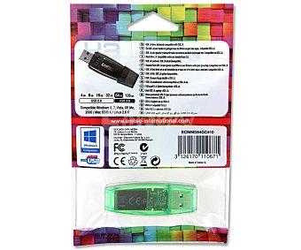 EMTEC COLOR Memoria USB Pendrive C410, 64GB, Usb 2.0,