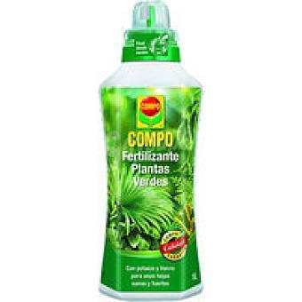 Compo Fertilizante para plantas verdes Botella 1 litro