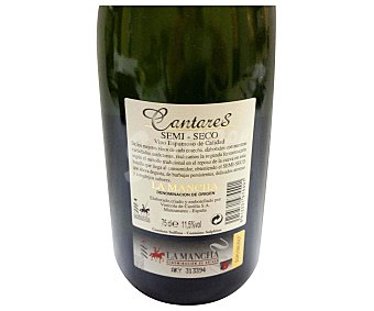 CANTARES Vino espumoso semi seco 75 Centilitros