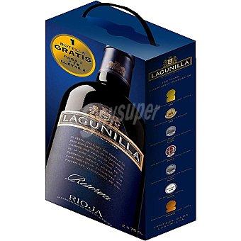 Lagunilla Vino tinto reserva D.O. Rioja caja paga 1 botella y te llevas 2 2 botellas 75 cl