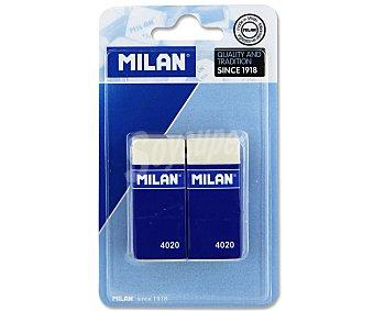 Milan Gomas de Borrar  Nº 4020 MIGA PAN 2u