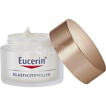 Eucerin Elasticity+filler crema de día antiedad para la piel madura con ácido hialurónico Tarro 50 ml