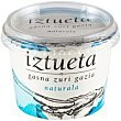Queso blanco salado natural Tarrina 200 g Iztueta