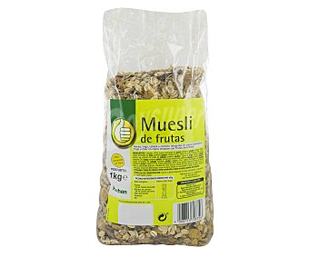Productos Económicos Alcampo Cereales muesli con frutas 1 kilogramo