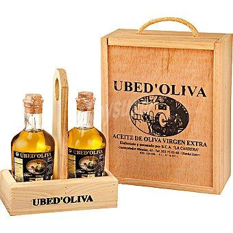 UBED'OLIVA aceite de oliva virgen extra pack 2 botellas 250 ml