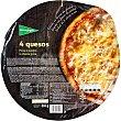 pizza 4 quesos cocida en horno de leña envase 365 g El Corte Inglés