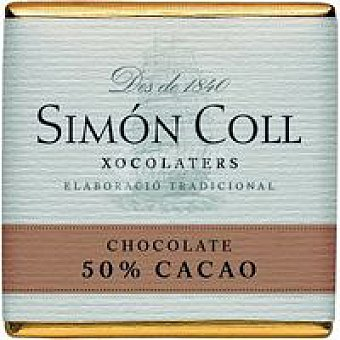SIMON COLL Chocolate 50% 5g caja 5 k