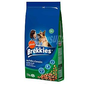 Brekkies Affinity Alimento para perros con pollo y cereales para perros Paquete de 15 kg