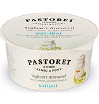 Pastoret Yogur artesanal natural Envase 125 g