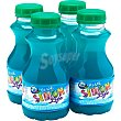 Blue bebida de zumo sabor a frutos del bosque sin gas pack 4 botellas 200 ml pack 4 botellas 200 ml Simon Life