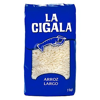 La Cigala Arroz largo Paquete 1 kg