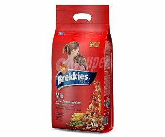 Brekkies Affinity Pienso para gatos adultos con buey, ternera y verdura Bolsa 4 kg