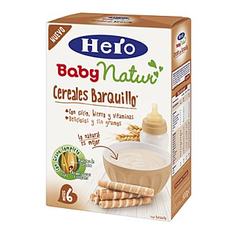 Hero Baby Papilla 8 cereales sabor a barquillo 500 g