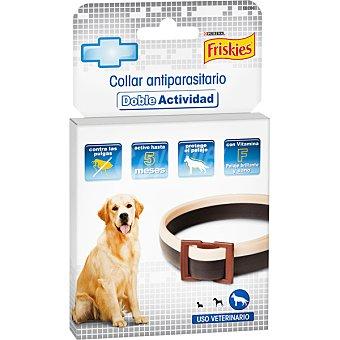 Purina Friskies Collar antiparasitario doble actividad contra las pulgas para perros grandes Estuche 1 unidad