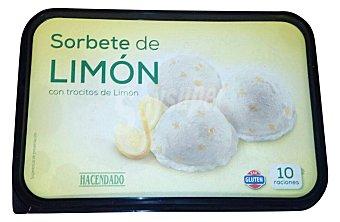 Hacendado Helado tarrina sorbete limon Tarrina 2500 cc