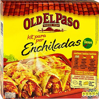 Old el Paso Enchilada kit Estuche 610 g