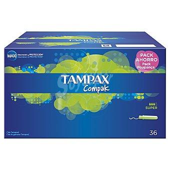 Tampax Tampax Compak Super 36 ud