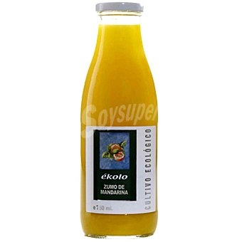 EKOLO zumo de mandarina 100% envase 750 g