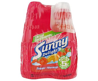 Sunny Delight Zumo de fresa Pack de 4x310 ml