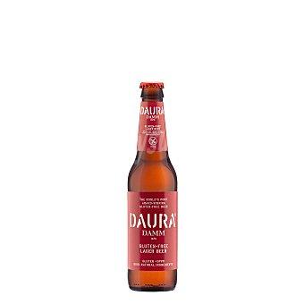 Daura Damm Cerveza sin gluten Botellín 33 cl
