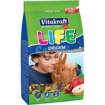 VITAKRAFT LIFE DREAM Alimento especial para conejos bolsa 600 g Bolsa 600 g