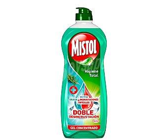 Mistol Lavavajillas mano higiene total Botella 650 ml