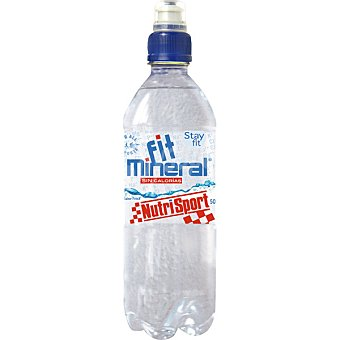 Nutrisport Bebida Fit Mineral hidratación y vitaminas sin calorías Botella de 500 ml