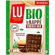 Galletas recubiertas con chocolate negro ecológico 120 g Lu