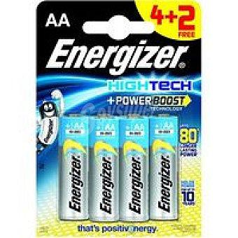H. Tech LR06 AA ENERGIZER Pila Pack 4+2 unid