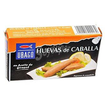 Ubago Huevas de caballa en aceite de girasol Lata 65 g