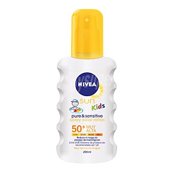 Nivea Sun Spray sensitive niños + FP50 200 ML