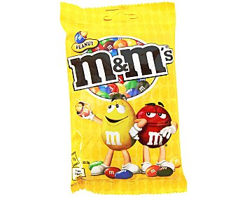 M&M's Cacahuetes con chocolate Bolsa 100 g
