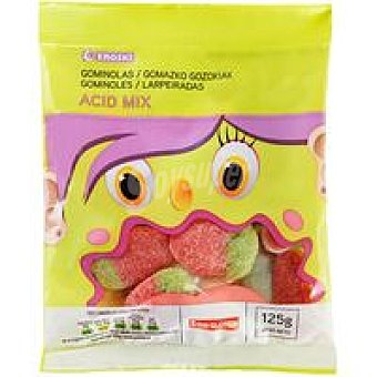 Eroski Gominolas Mix Acid Bolsa 125 g