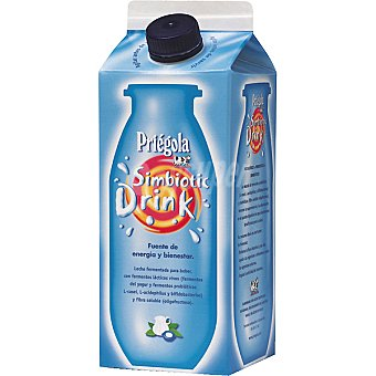 PRIEGOLA Simbiotic Leche fermentada natural Envase 750 ml