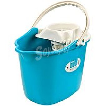 Eroski Cubo con esc. 14 litros Pack 1 ud