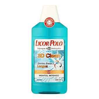 Licor del polo Enjuague bucal 3D Clean Botella 500 ml