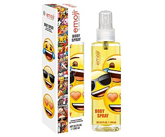 Emoji Agua de colonia infantil con vaporizador en spray 200 ml