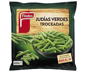 Findus Judías verdes redondas troceadas Bolsa 400 g