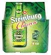 Cerveza rubia Botellin pack 6 x 250 cc - 1500 cc Steinburg