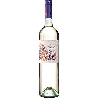 DULCE MARIA Vino blanco semi dulce natural de Madrid botella 75 cl