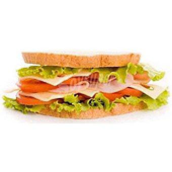 Sándwich vegetal 1 unidad