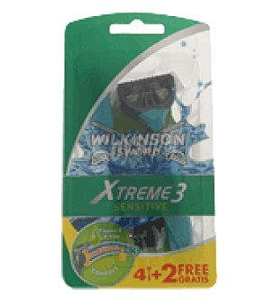 Wilkinson Maquinilla desechable xtreme 3 sensitive 1 und. 1 ud