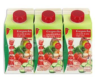 Auchan Gazpacho 3x33cl