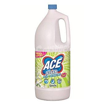 Ace Lejía con detergente aroma limón Botella 2 l