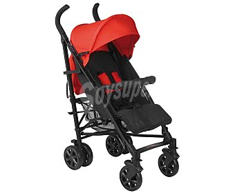 Baby nurse Sillita de paseo para bebé, color rojo y negro, baby nurse HOP
