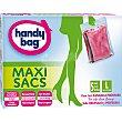 Bolsa multiusos Maxi Sacs ahorra espacio con cierre hermético talla L caja 5 unidades 5 unidades Handy bag