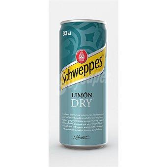 SCHWEPPES Refresco Limón Dry Lata de 33 cl