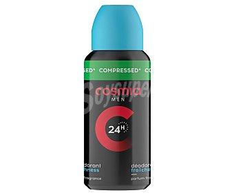 Cosmia Desodorante de viaje en spray para hombre con protección anti-transpirante de hasta 24 horas cosmia