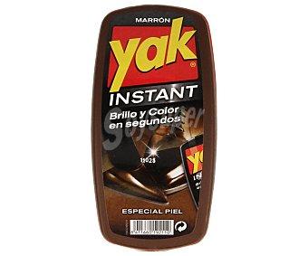 Yak Esponja color marrón para calzado Pack 1 unid
