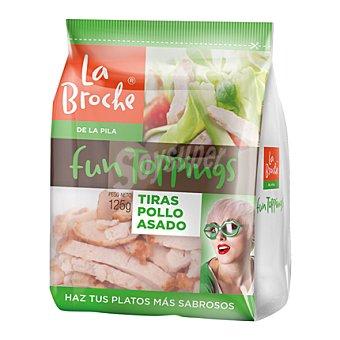 DE POLLO Tiras 100 g